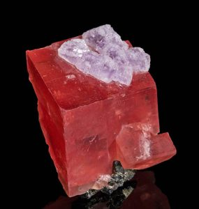 Bright-red rhodochrosite