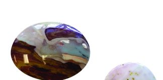 Student-produced cabochons