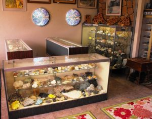 Rock Shop interior