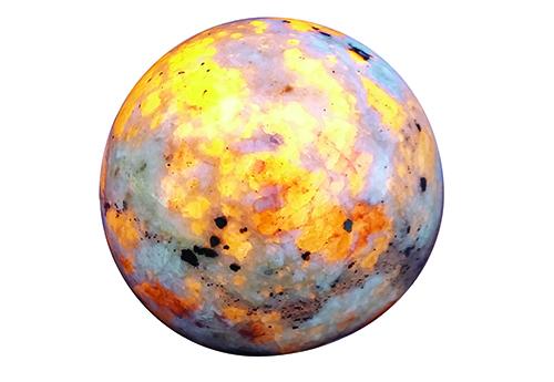 Activated specimen sodalite