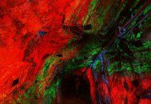 Sterling Hill Mining Museum fluorescing