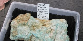 Nugget of turquoise