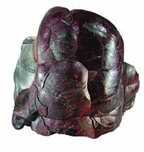 Kidney ore example of hematite