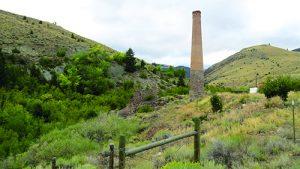Smelter complex remnants