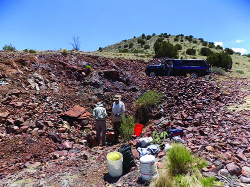 Main workings of U.S. 60 Mine