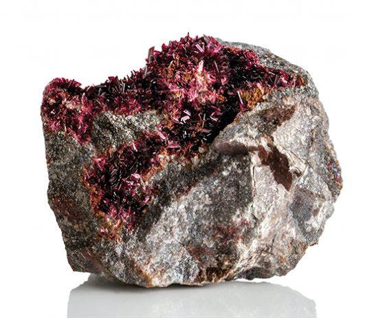Erythrite specimen
