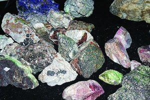 zinc deposit specimens