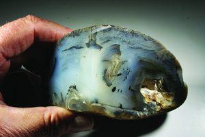 Montana agate slab