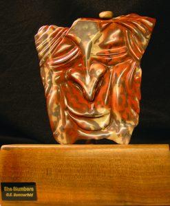 Zebra stone carving