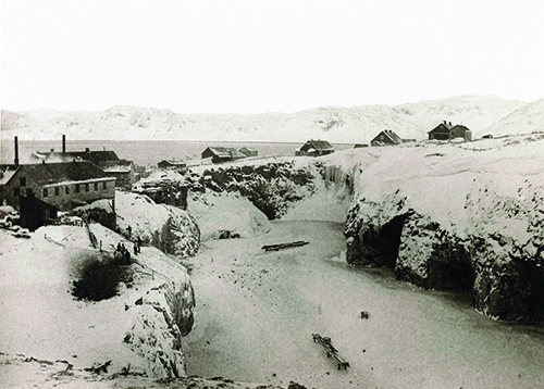 Arsuk Fiord cryolite source