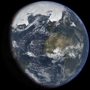 Earth glacial age