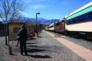 Train depot in Verde Canyon