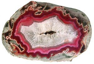 Dryhead agate geode