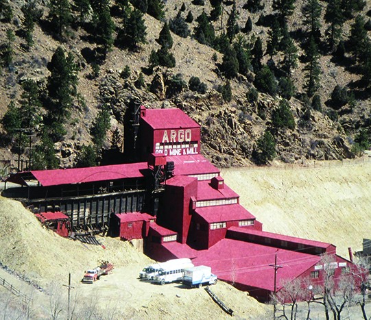 Argo Gold Mine and Mill