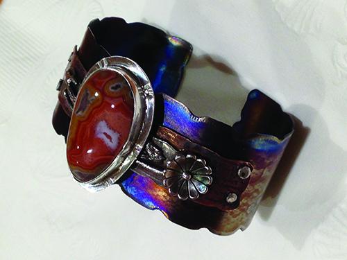 Dryhead agate bracelet