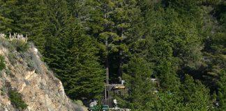 Postmile marker found along California highways