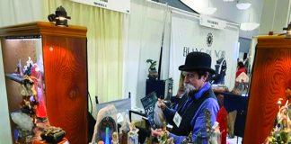 Tom Sloyer, artist and owner of Head Lands Fantasy Art