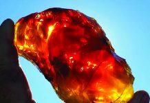 Opal Queen fire opal