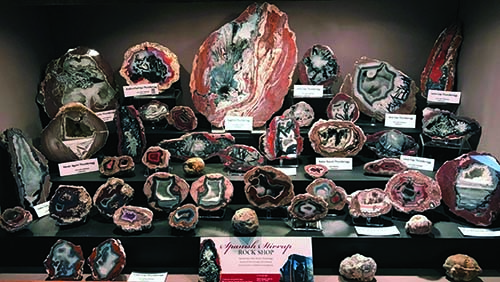 Thunderegg display case