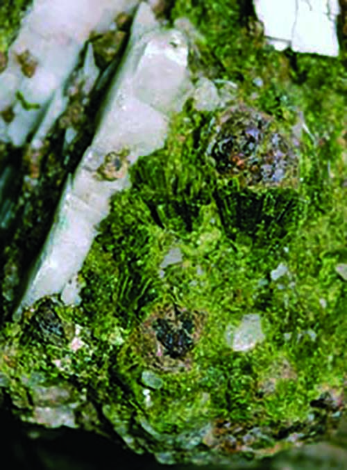 Epidote from Green Monster Mountain, Alaska