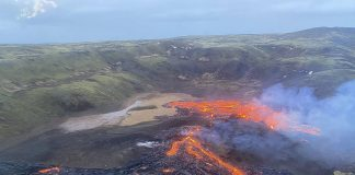 Fagradalsfjall volcanic