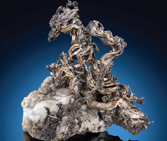 High-grade silver ore