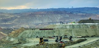 Hpakan Jade Tract open-pit operation