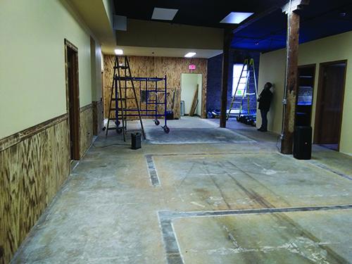 The Gem Shop, Inc.'s, renovation