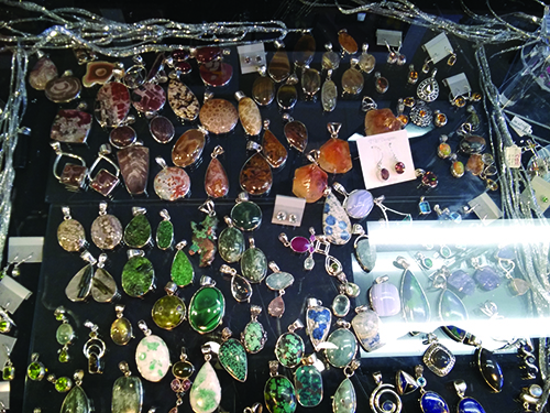 The Gem Shop lapidary art and jewelry