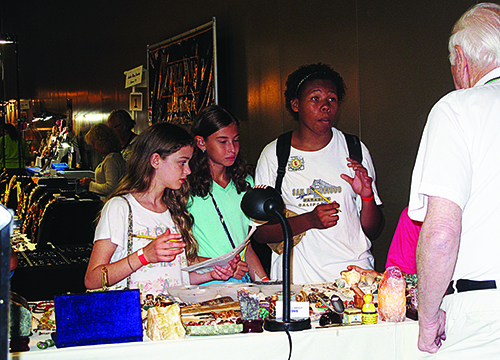 Show dealers helping young people