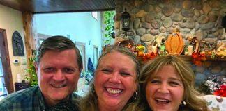 Jim and Gail Spann, Tracy Alvarez