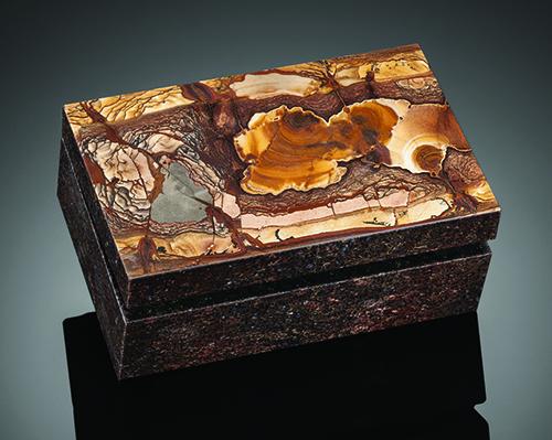 Picture jasper box