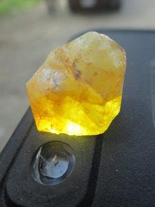 Ryerson Hill herderite crystal