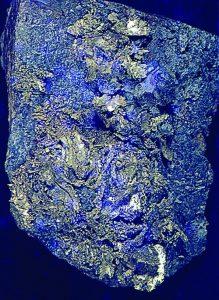 gold telluride from Romania