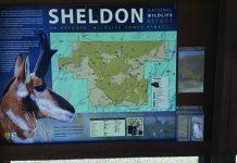 Sheldon National Wildlife Refuge sign