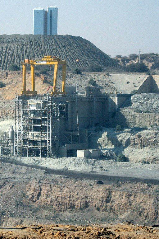 Botswana mining operation